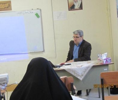 برگزاری نشست فضای مجازی در موسسه آموزش عالی حوزوی زینبیه